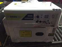 sound proof 6-7KVA diesel generator with remote control