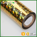 Laser Phantoscope Golden Hot Stamping Foil Roll for Paper/Paper Bag/Carton/Wallpaper/Business Card/Sticker/Cigarette Box