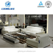 Hot sale,modern design,sits comfortable white leather sofa 2Y229