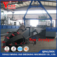China sand dredging boat of 18 inch Cutter Suction Dredger for sale