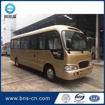 Korea original county bus 20-23 seaters Euro 4 emission county used bus