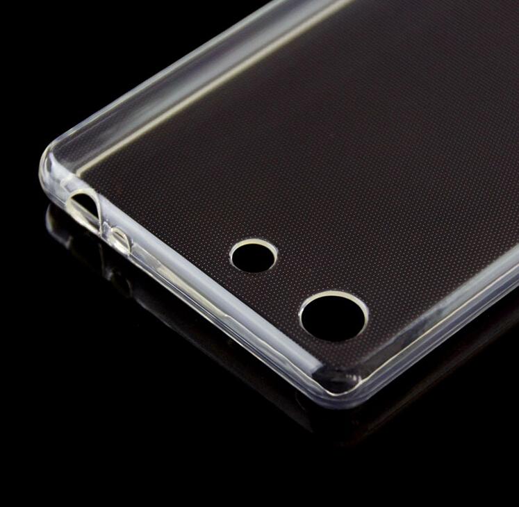 For sony m5 mobile soft clear tpu scratchproof phone case