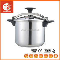 High 7L Aluminium Soft Anodized Explosion-Proof Pressure Handy Cooker Cheap With Induction Bottom