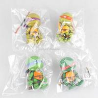 Teenage Mutant Ninja Turtles Leonardo/Raphael/Michelangelo/Donatello No box 8cm cute toy action figure