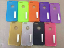 cell phone case mobile phone silicon case rack mobile phone case for iphone 6s
