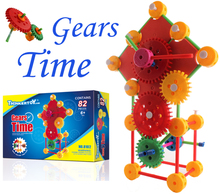 Gear Time Mould DIY Toys small Building Blocks for Kids