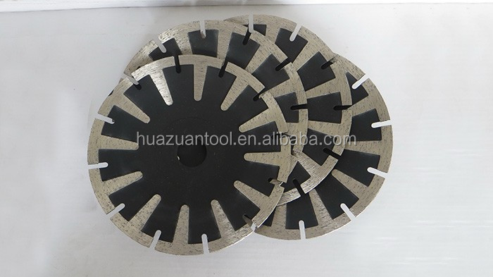 Good performance 125mm groove blade for stone cutting