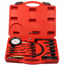 Auto Tool for Diesel Engine Compression Test Sets Direct and Indirect Pressure Tester Gauge 1000psi For Diesel Vehicle Cylinder
