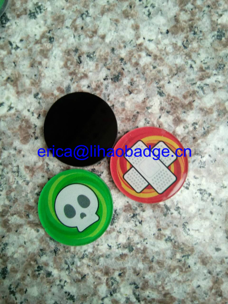 Wholesale game token,custom high quality plastic token coin