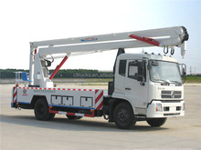 Good quality manufacture dongfeng 22m aerial working bucket truck
