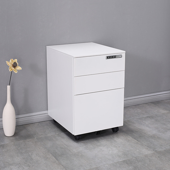China Shuangbin Mobile Pedestal Cabinet / 3 Drawer Vertical Metal File  Cabinet