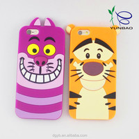 oem 3d cartoon design silicone phone case