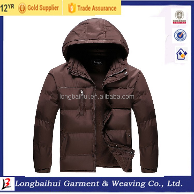 Wholesale High Quality Customize urban wear winter jackets