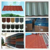 Stone Coated Metal Roofing Sheet&Roof Tile