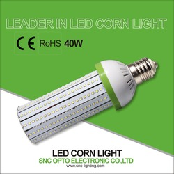 CE/RoHS IP40 40W cost effective high bay light led corn light/led corn lamp
