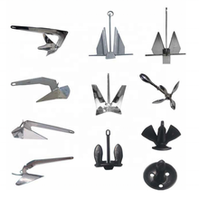 Stainless steel delta wing boat anchors