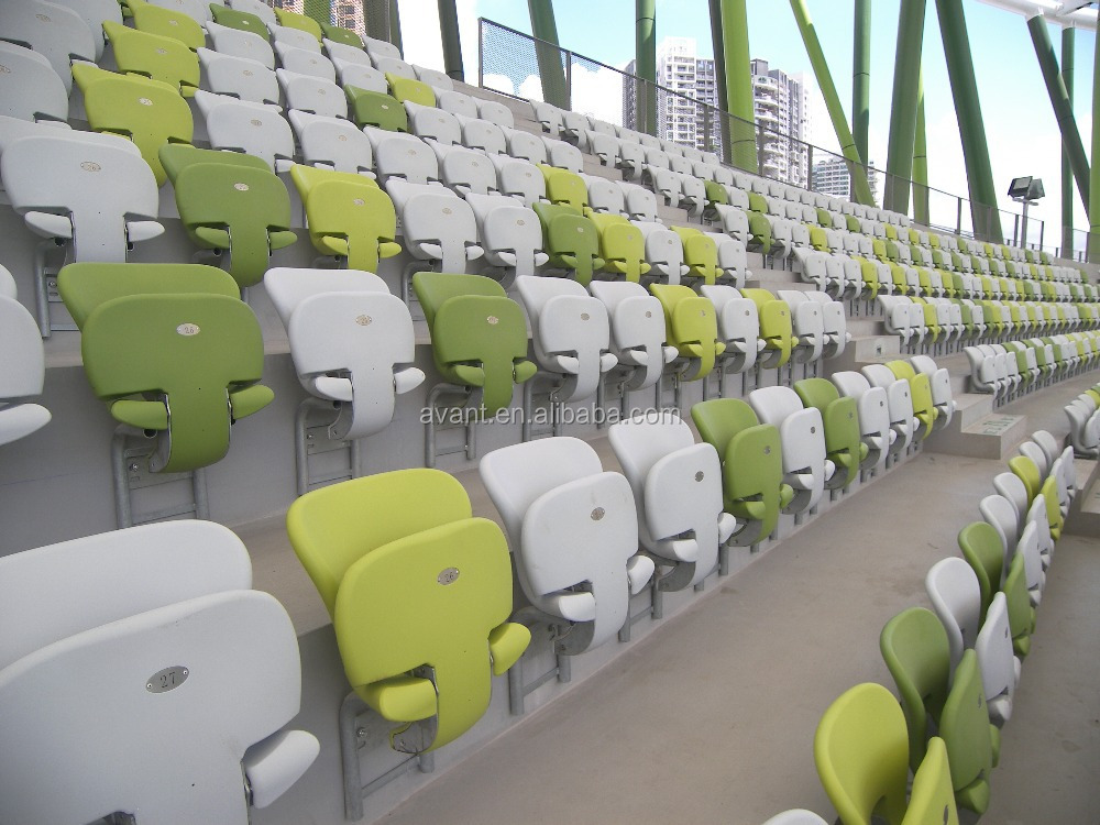 foldable tip-up bucket seat,stadium tribune chair for football