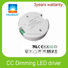 60w round shape led driver 65VDC 900mA dimmable led Power Supply constant current