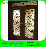 Morden Wrought Iron Entry Door Inserts Wholesale