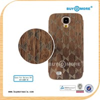 New OEM bamboo and wood cell phone wood case cover Shell for Samsung Smartphone Galaxy 9500 S4