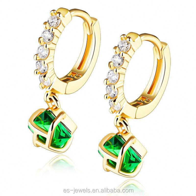 simple designer cute earrings for cute girls Alloy daily wear earrings KE670