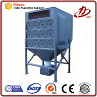 Air cartridge filter dust collector for nonferrous metal