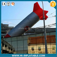 Inflatable rocket artillery;originality inflatable;inflatable cannonball