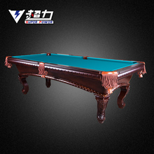 hot selling with hand carved pool and billiard table with solid wood