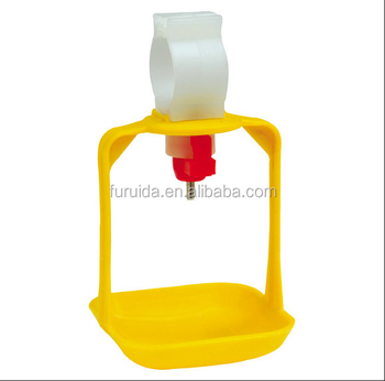 Fast build simple new style stable chicken nipple system with nipple drinker