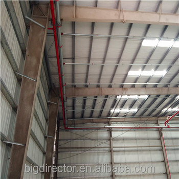 Cheap Subic Warehouse Prefab Steel Structure Construction Easy Insulation In Philippines