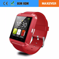 Sports Style U8 Bluetooth Smart Watch Pair For iOS Android Phone For All Phones 1.44' TFT
