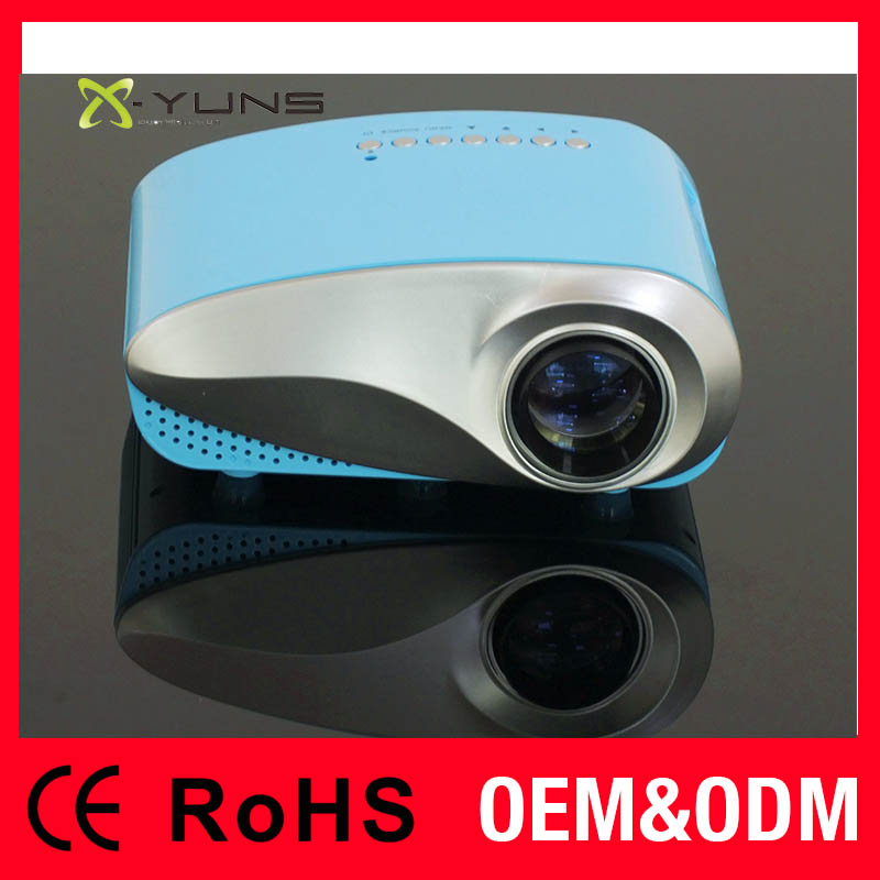 Portable Mini 1080P Full HD mobile projector for home theater