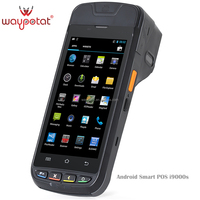 waypotat android handheld pda support 3G RFID 2D barcode SE4500 1.2m drop tested i9000s