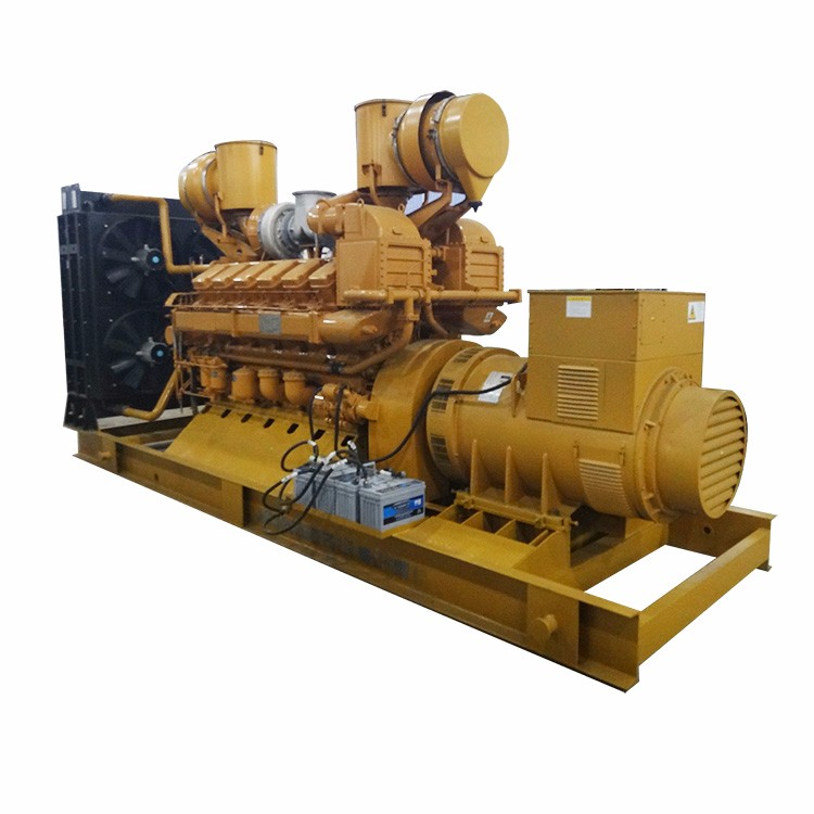 Price of 1000kva big power generator set with 12 cylinder diesel engine