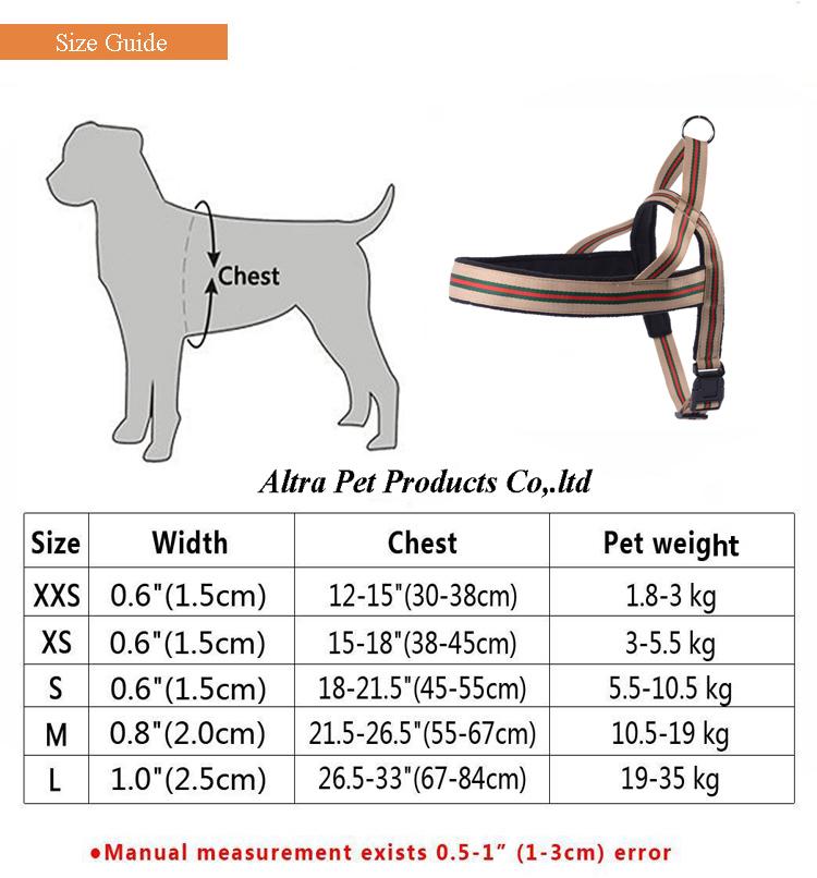 China Fabricante de Arreios Cão Aproveitar Cão de Algodão Confortável Com Material Macio