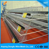 Hot selling poultry farming best selling chicken cage for sale
