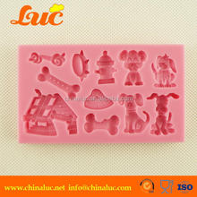 Lsm039 Cake Cupcake Decorating Tools Fondant Dog Mold