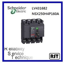 Compact NSX250H4P160A LV431682 Merlin Gerin Schneider MCCB Molded Case Circuit Breaker