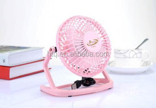 4 Inch mini desktop USB fan