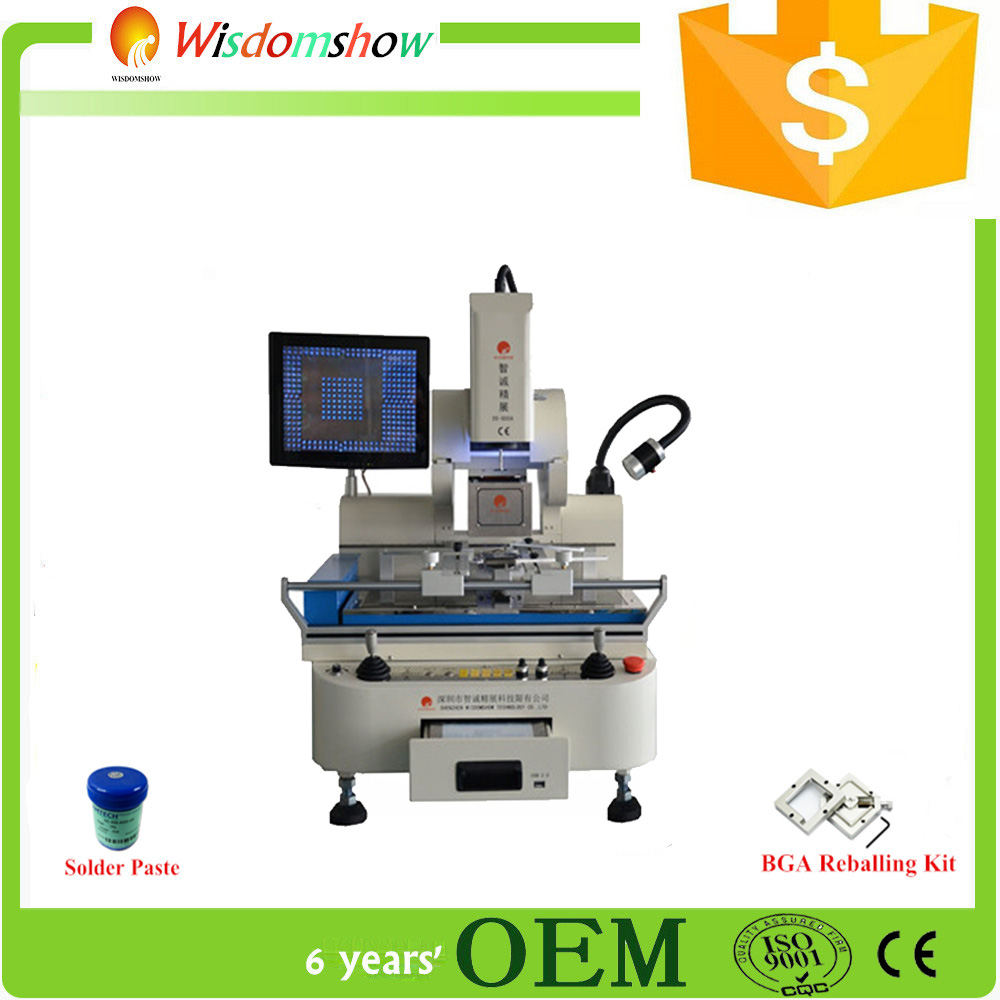 DS-800A Hot air High Performance laptop motherboard ps3 controller repair and rework ir6000 soldering station