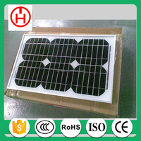 best price per watt factory direct 15w mono solar panel China factory direct