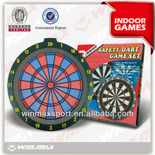 Safety 18 inch plastic dartboard