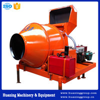 Best selling Mobile Hydraulic Diesel Concrete Mixer