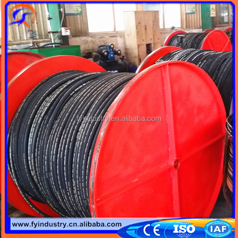 2017 factory Lowest price High Pressure Hydraulic Rubber Oil Hose R1AT for Sea Water