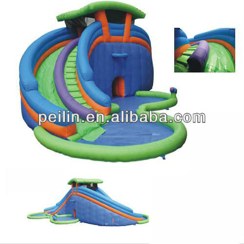 2013 hot sales giant inflatable water slide for adult
