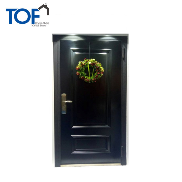 China new model steel security door Main entrance security steel door
