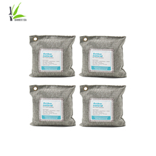 4 Pack 200g Activated Bamboo Deodorizer Natural Air Purifying Bags, Dehumidifier, Odor Absorber, Odor Neutralizer for Home