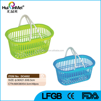 New Design With Handle Plastic Laundry Basket.
