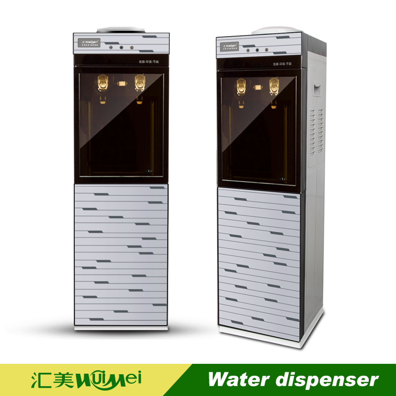 New design double gass door water cooler with ozone sterilizer cabinet