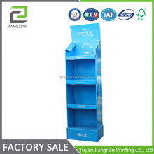 Customized Cardboard Corrugated Floor Display Stand/Rack